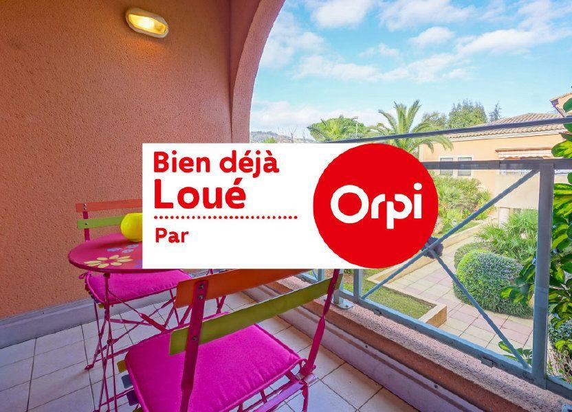Appartement à louer 26.87m2 à Mandelieu-la-Napoule