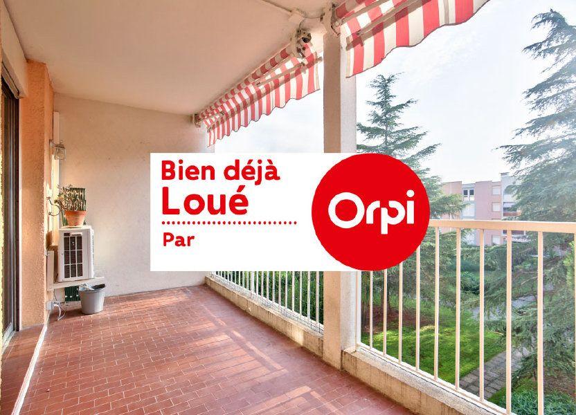 Appartement à louer 61.25m2 à Mandelieu-la-Napoule
