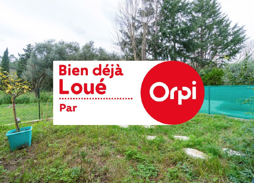 Appartement à louer 28.51m2 à Mandelieu-la-Napoule