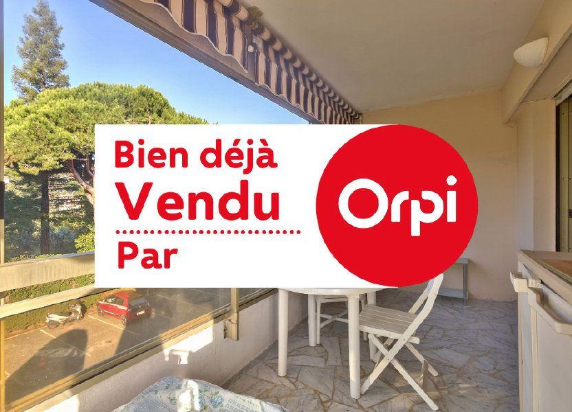 Appartement à vendre 47.46m2 à Mandelieu-la-Napoule
