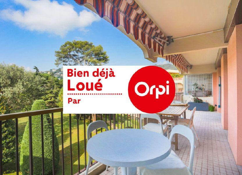 Appartement à louer 57.28m2 à Mandelieu-la-Napoule