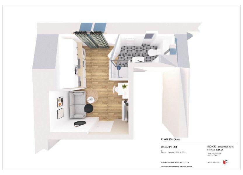 Appartement à louer 24m2 à Castres