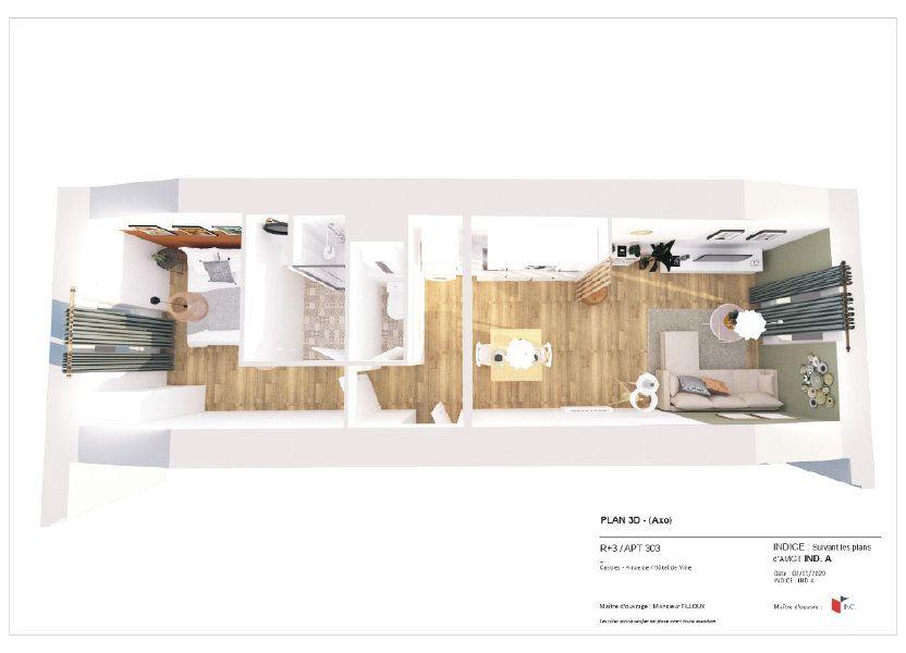 Appartement à louer 36m2 à Castres