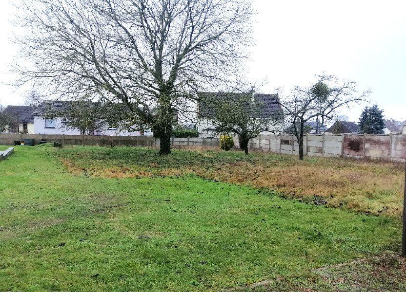 Terrain à vendre 880m2 à Gournay-en-Bray