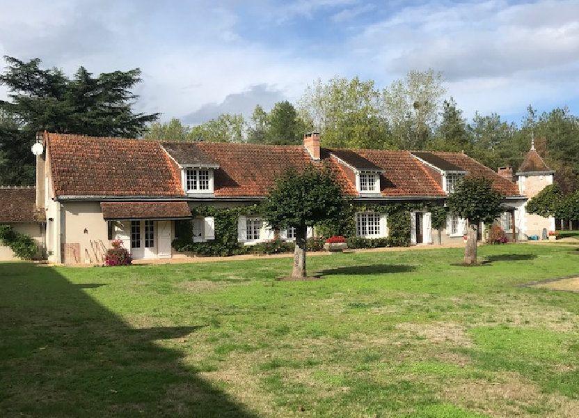 Maison à vendre 376.4m2 à Pruniers-en-Sologne