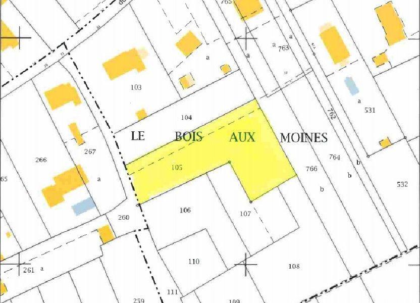 Terrain à vendre 1700m2 à Romorantin-Lanthenay