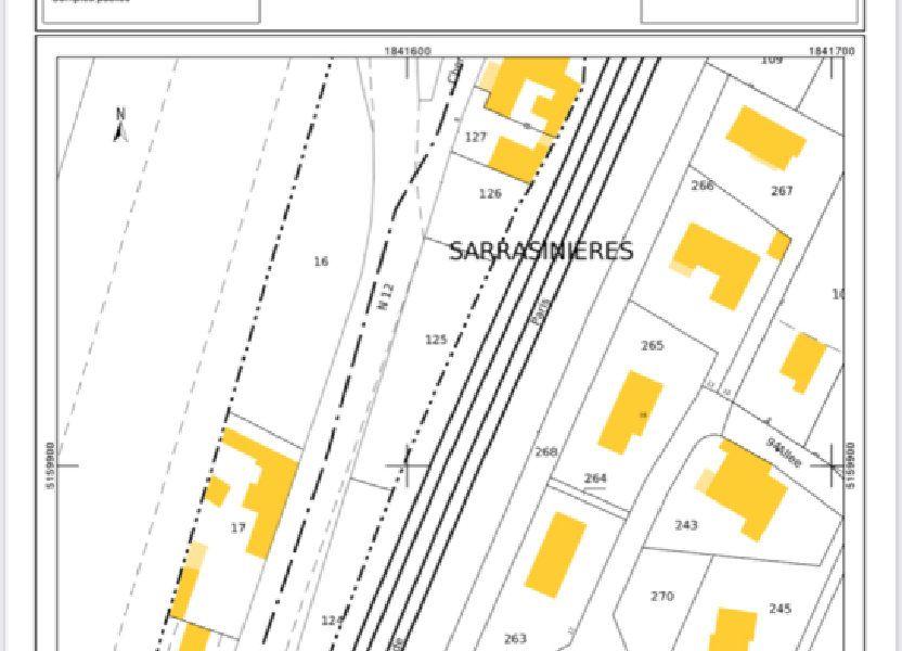 Terrain à vendre 3558m2 à Ternay