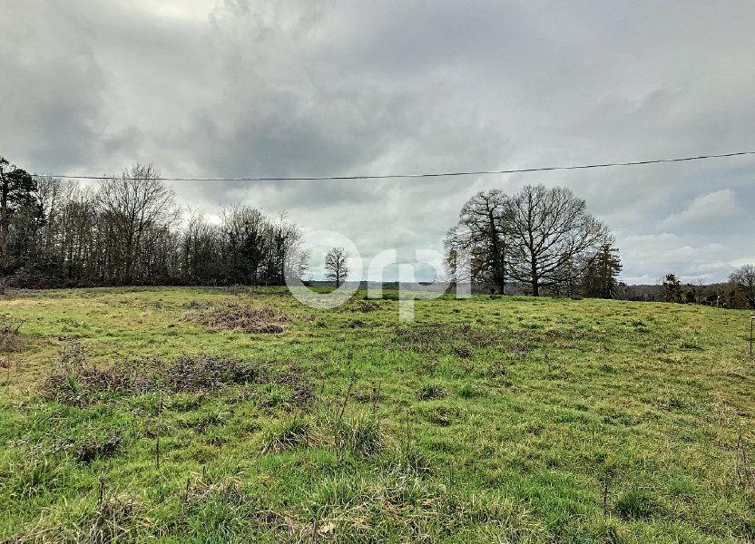 Terrain à vendre 2550m2 à Milhac-d'Auberoche