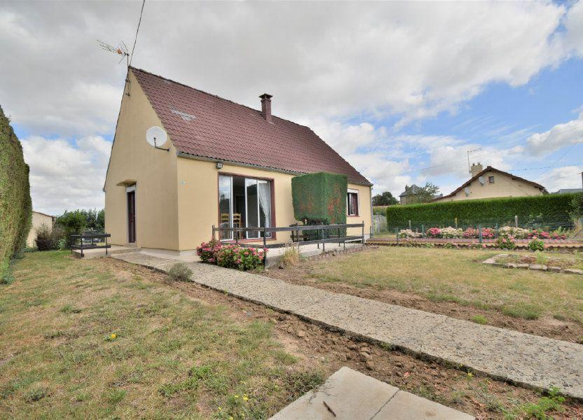 Maison à vendre 82m2 à Beauvois-en-Vermandois