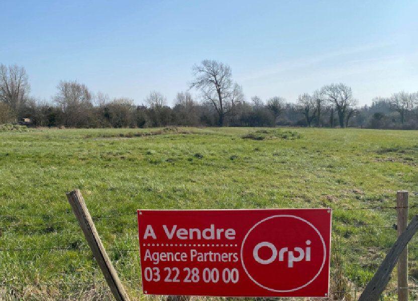 Terrain à vendre 800m2 à Saint-Quentin-en-Tourmont