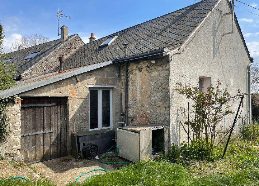 Maison à vendre 83.55m2 à Bazoches-les-Gallerandes