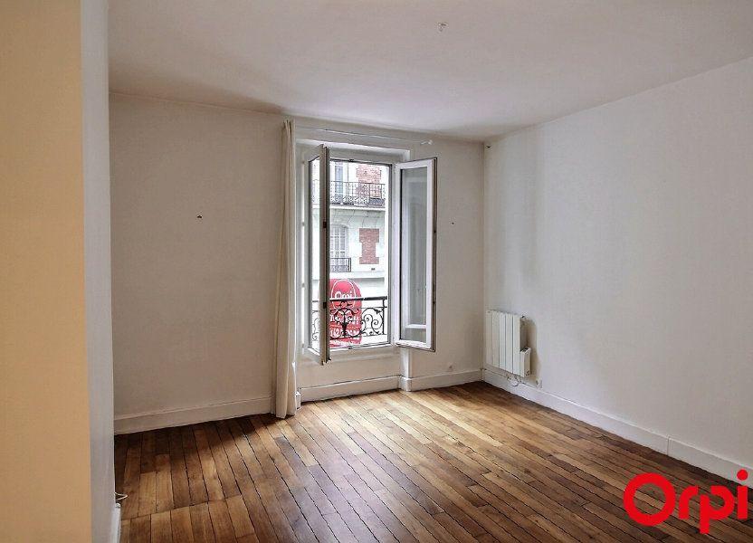 Appartement à louer 34.08m2 à Paris 17