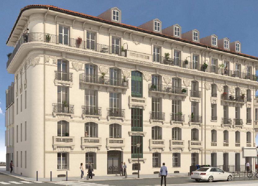 Appartement à vendre 58.4m2 à Nice