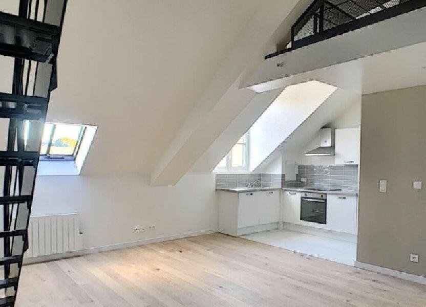 Appartement à louer 60.2m2 à Compiègne