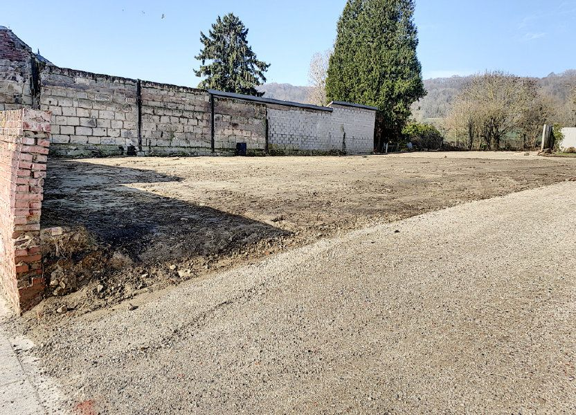 Terrain à vendre 500m2 à Cambronne-lès-Ribécourt
