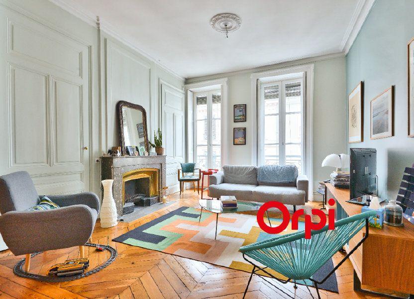 Appartement à vendre 91.14m2 à Lyon 2