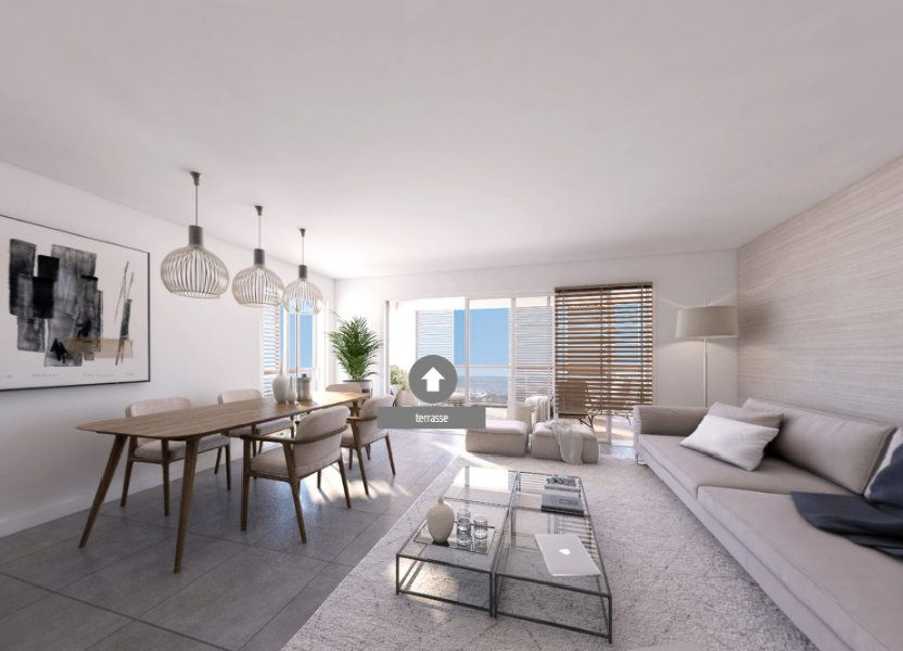 Appartement à vendre 93.22m2 à Ajaccio