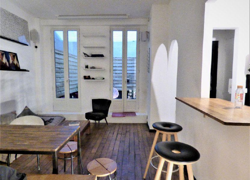 Appartement à vendre 24m2 à Paris 18
