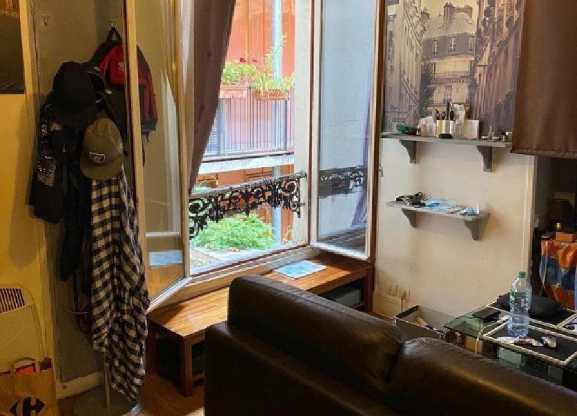 Appartement à vendre 22m2 à Paris 10