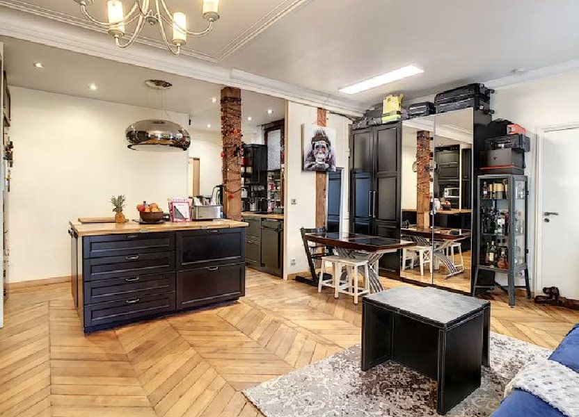Appartement à vendre 50.1m2 à Paris 17