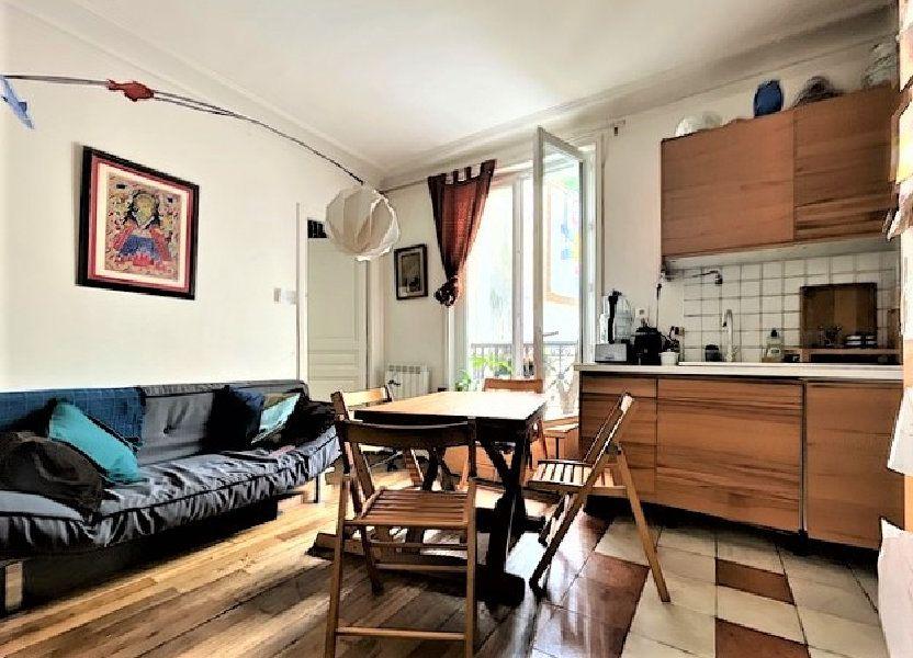 Appartement à vendre 46m2 à Paris 10