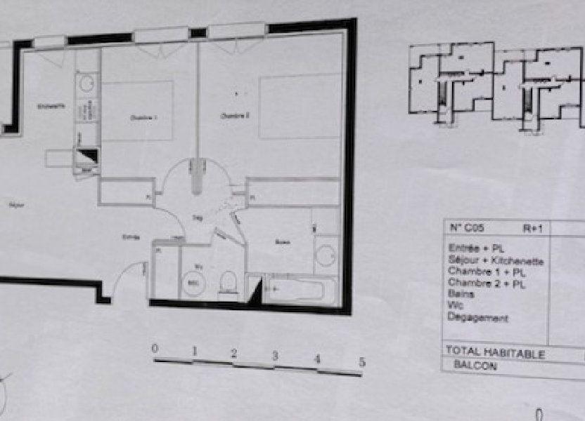 Appartement à vendre 56m2 à Castelginest