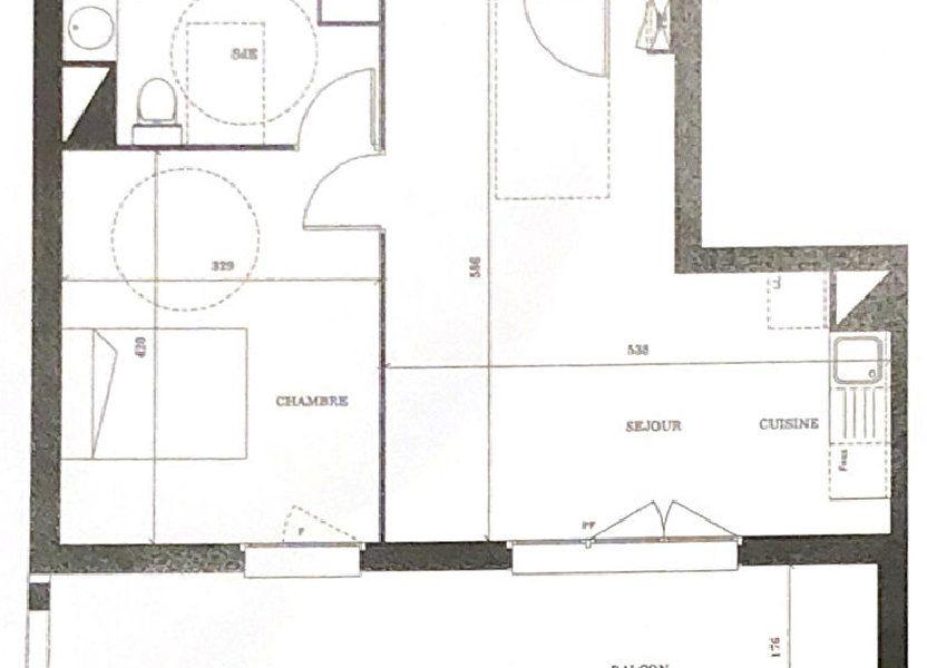 Appartement à vendre 45m2 à Launaguet