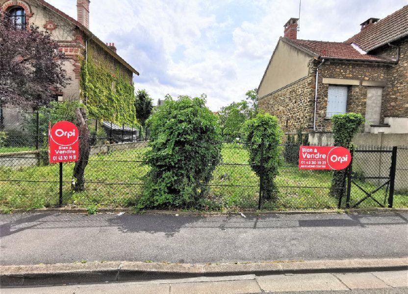 Terrain à vendre 420m2 à Aulnay-sous-Bois