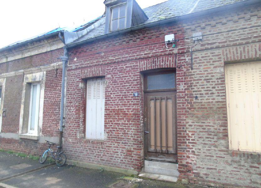 Maison à vendre 45m2 à Origny-Sainte-Benoite