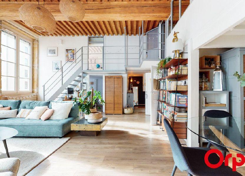 Appartement à vendre 104m2 à Lyon 4
