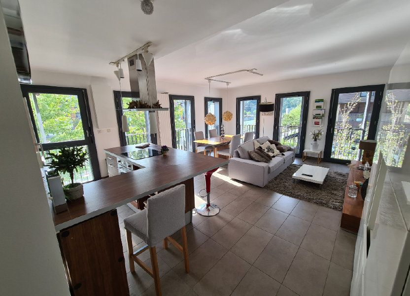 Appartement à louer 57.35m2 à Lyon 2