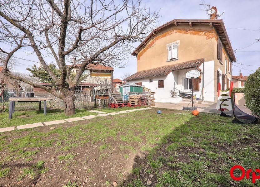 Appartement à vendre 62m2 à Vaulx-en-Velin