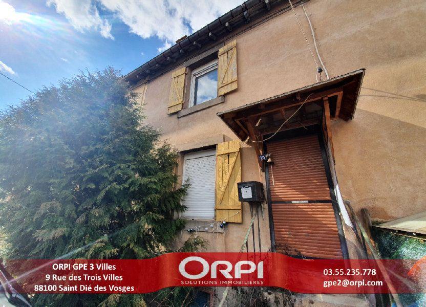 Maison à vendre 62.13m2 à Raon-l'Étape