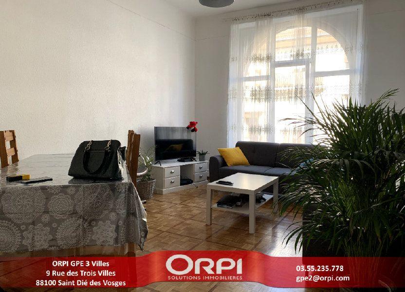 Appartement à louer 115m2 à Saint-Dié-des-Vosges