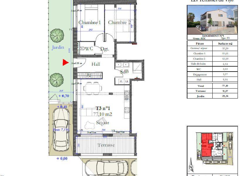 Appartement à vendre 77.1m2 à Carqueiranne
