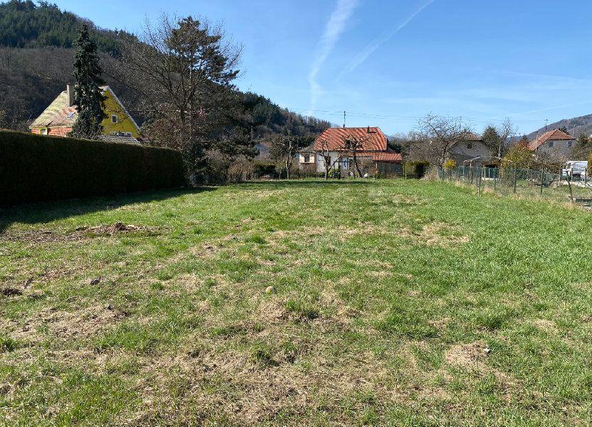Terrain à vendre 1266m2 à Willer-sur-Thur