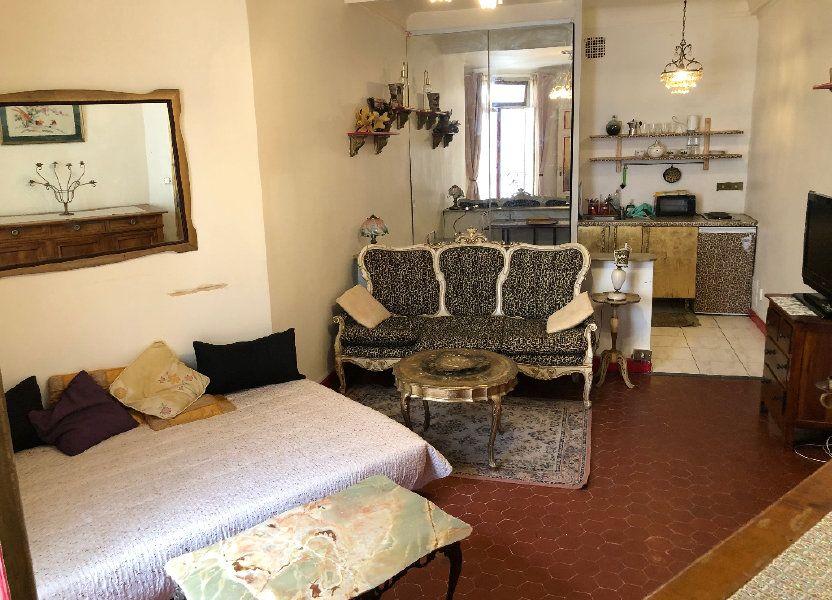 Appartement à louer 25.03m2 à Nice