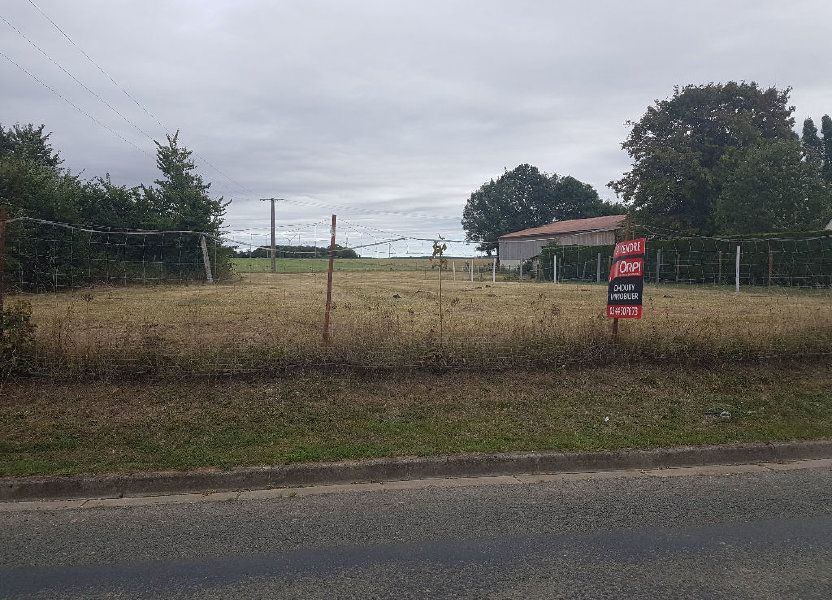 Terrain à vendre 1000m2 à Le Fay-Saint-Quentin