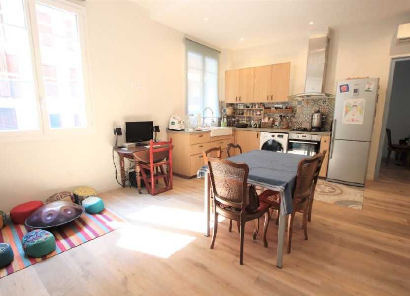 Appartement à vendre 62m2 à Nice