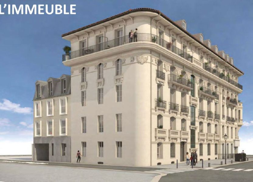Appartement à vendre 61.5m2 à Nice