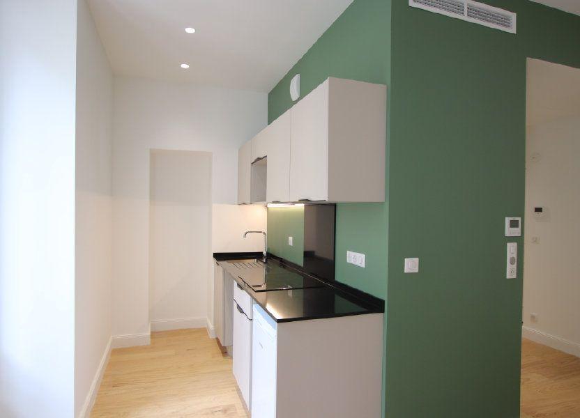 Appartement à louer 49.19m2 à Nice