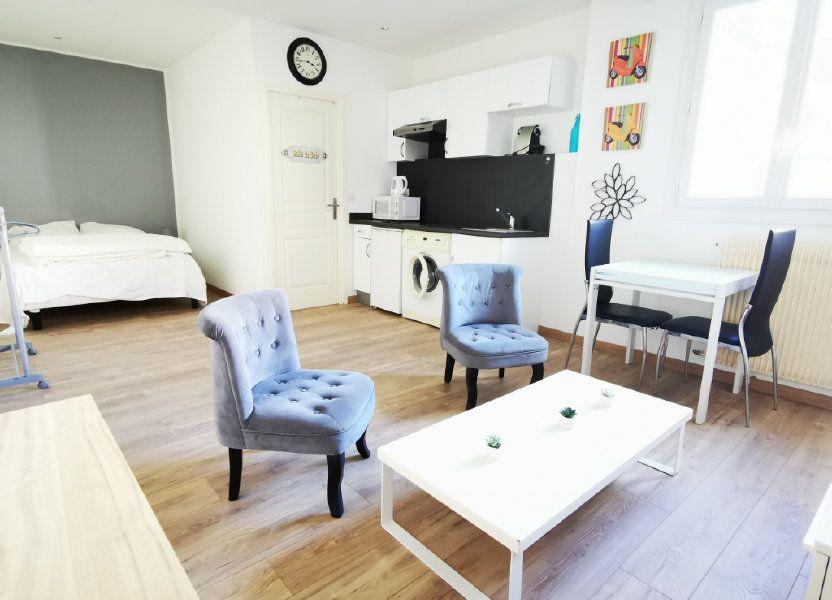 Appartement à louer 27.12m2 à Nice