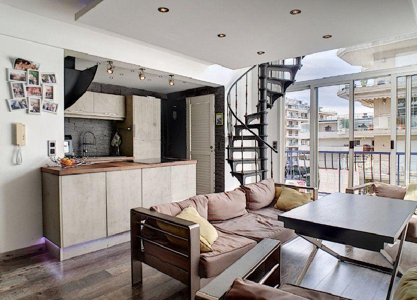 Appartement à vendre 84.17m2 à Cannes