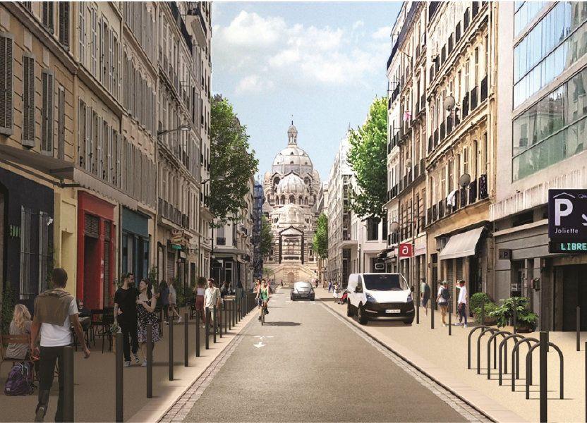 Appartement à vendre 71m2 à Marseille 2