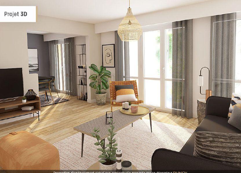 Appartement à vendre 93m2 à Bordeaux