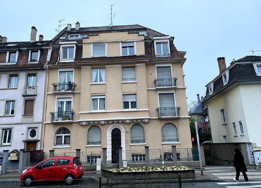 Appartement à vendre 58m2 à Strasbourg