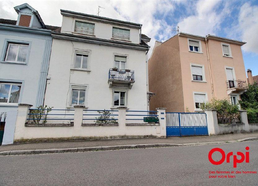 Appartement à vendre 72m2 à Bischheim