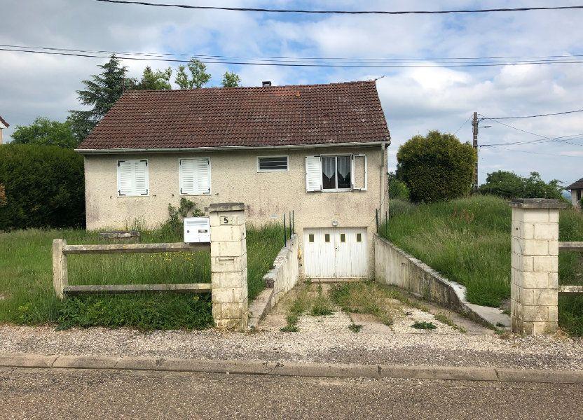 Maison à vendre 85.5m2 à Chalindrey