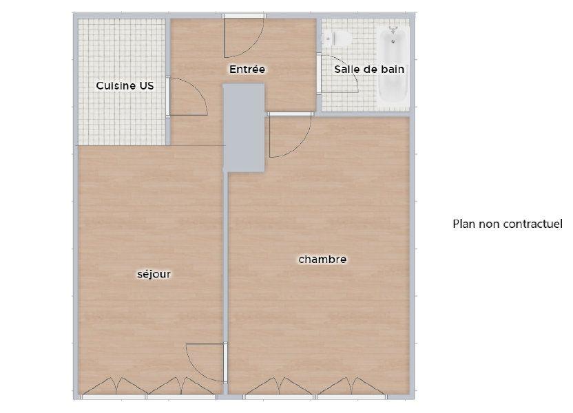 Appartement à vendre 53.93m2 à Paris 16