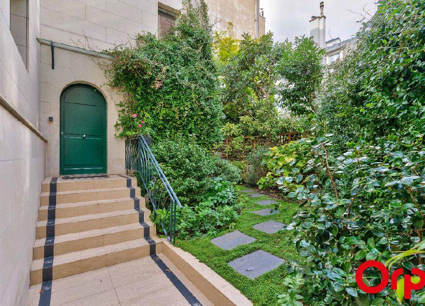 Maison à vendre 190.41m2 à Paris 16